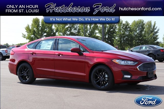 Ford Fusion St >> New 2019 Ford Fusion Se Fwd 4d Sedan